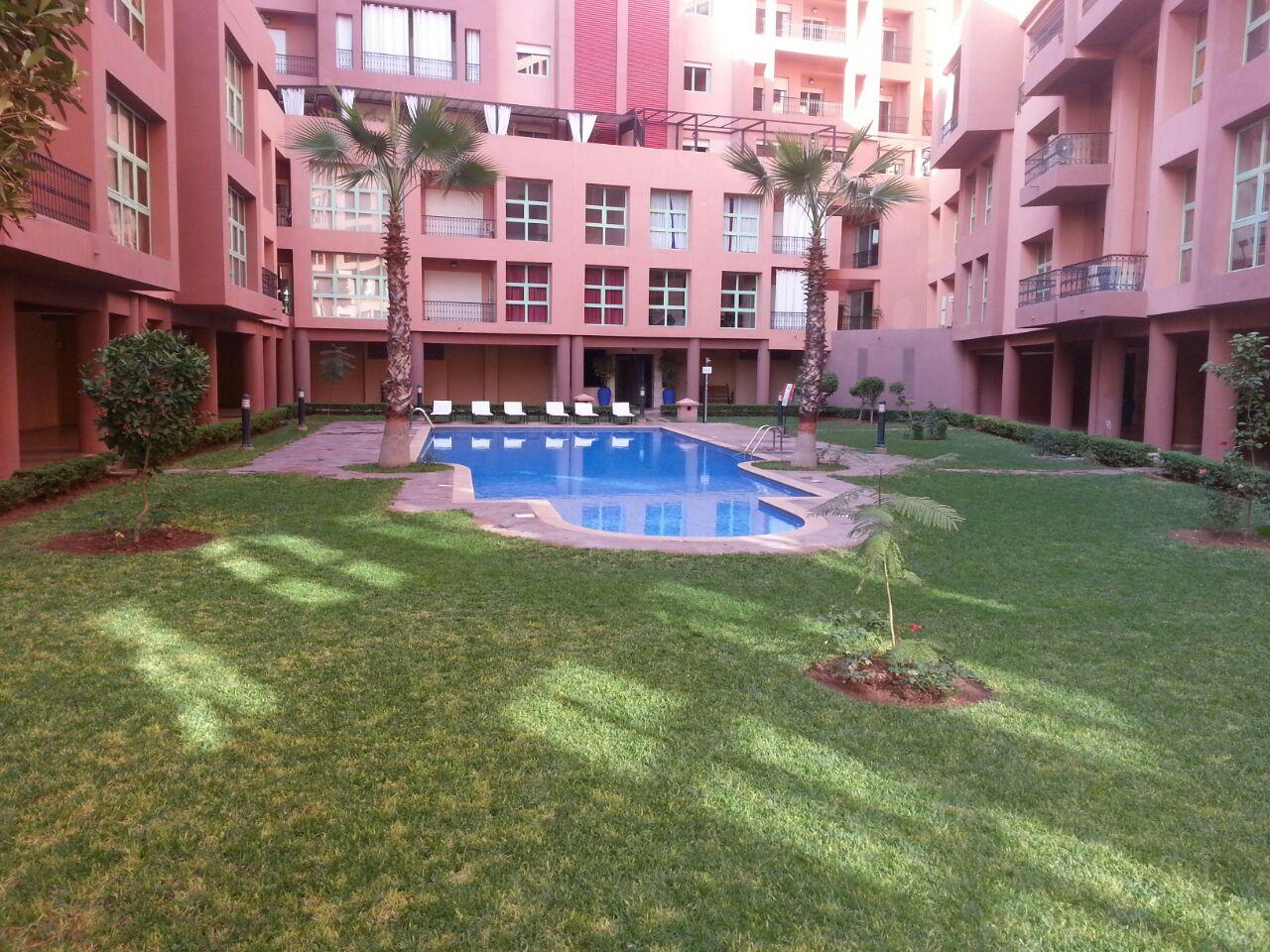 Duplex appartement marrakech majorelle marroc partir de - Residence les jardins de majorelle marrakech ...