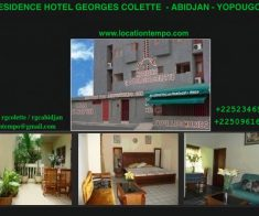 RESIDENCE DE VACANCES MEUBLEE –  VILLA 3 PIECES – Adidjan