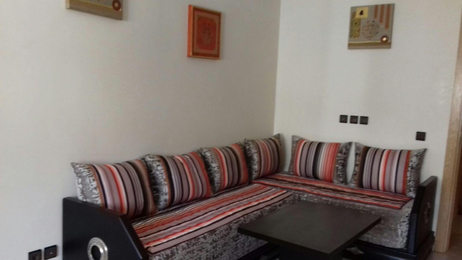 super studio meubl a louer a agdal rabat partir de 70eur 35m properties cost. Black Bedroom Furniture Sets. Home Design Ideas