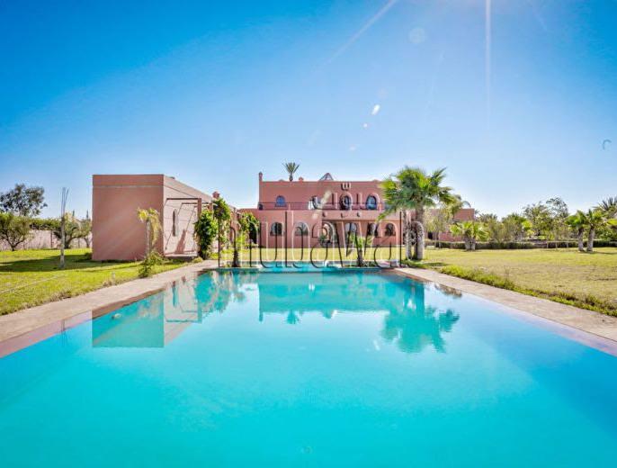 Belle résidence 1 ha  Palmeraie de Marrakech
