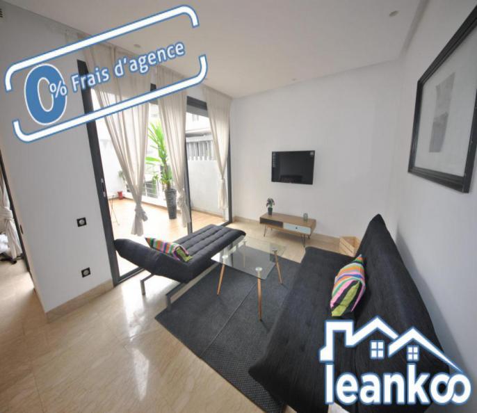 Studio de 80 m² à louer meublé Bd Yaacoub Al Mansour